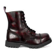 NEVERMIND 8-eye Combat Boots @ SinisterSoles.com