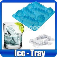 Titanic  Ice Cube Tray Mould Maker | eBay (you even get an iceberg shape as well