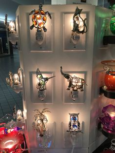 Home from Pure Oils Decorative Night Lights, Scared Of The Dark, Austrian Crystal, Chrome Plating, Crystals, Christmas, Gifts, Beautiful, Home Decor