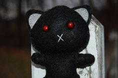 Binx - Cat - Made to Order  The Feltery  #thecraftstar