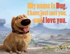 Dug - the perfect dog.  <-- Just about every dog, honestly.