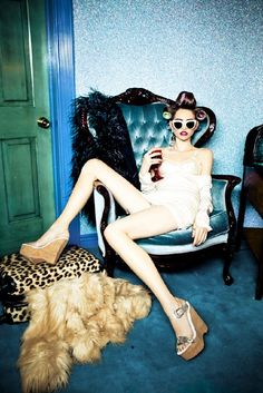 "Ellen von Unwerth's latest exhibition, ""Do Not Disturb!"", at the Michael Hoppen Gallery,"