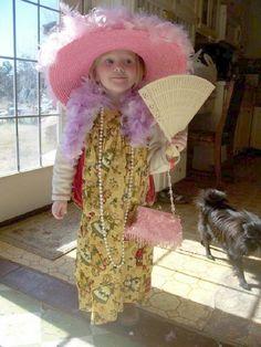Girls Tea Party Hats & Tea Sets  PLUS Fabulous Feathered Accessories & Favors