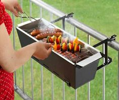 Carlos loves BBQ, this would be great instead of going down by the pool!