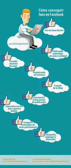 """Como conseguir """"Fans en Facebook"""""""