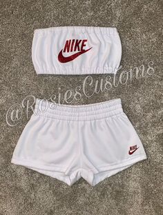 Cute Nike Outfits, Cute Lazy Outfits, Swag Outfits For Girls, Teenage Outfits, Crop Top Outfits, Girls Fashion Clothes, Sporty Outfits, Teen Fashion Outfits, Pretty Outfits