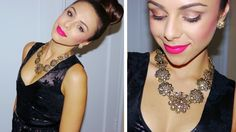 A Night Out Look! ♥ (Makeup, Hair & Dress from Rent the Runway) Gorgeous Hair, Life Is Beautiful, Beauty Makeup, Hair Makeup, Iphone Instagram, Rent The Runway, Essie Nail Polish, Dress Hairstyles, Beauty Hacks