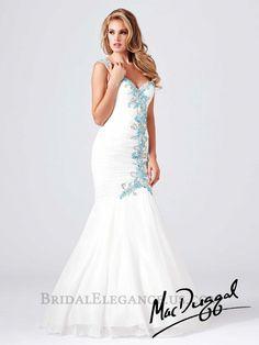 Mac Duggal - White Beaded One Shoulder Mermaid Prom Dresses Online Prom Dresses Online, Pageant Dresses, Homecoming Dresses, Dressy Dresses, Nice Dresses, Dresses 2014, Sweetheart Bridal, Bridal Elegance, Mermaid Prom Dresses
