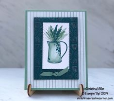 Not your typical fall card! Fall Cards, Holiday Cards, Christina Miller, Tin Tiles, Thanksgiving Cards, Host A Party, Autumn Theme, Friends In Love, Crafts To Make