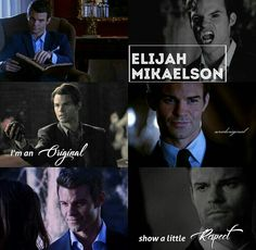 The Originals - Elijah Mikaelson Vampire Diaries The Originals, Elijah Vampire Diaries, Elijah The Originals, Vampire Boy, The Originals Characters, Daniel Gillies, Great Tv Shows, New Shows, Series Movies
