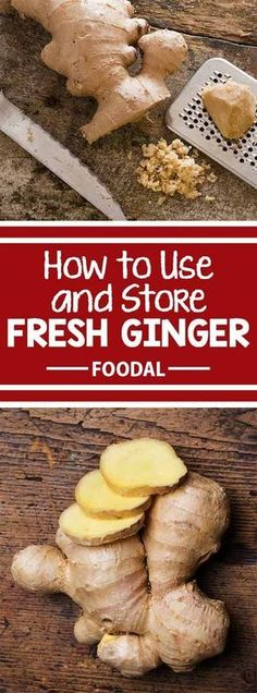 Looking for the best methods to shop, prep, and store fresh ginger? Read now on Foodal to learn how to handle these zesty hands! After reading our article, you will understand how to pick the best ginger at the store, as well as learn our favorite techniq Ginger Uses, Ginger Benefits, Kombucha, Storing Fresh Ginger, How To Store Ginger, How To Eat Ginger, Cooking With Ginger, Recipes With Ginger Root, Ginger Food