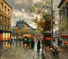 Antoine Blanchard - Place de la Madeleine