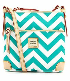 Dooney  Bourke Chevon Letter Carrier Cross-Body Bag