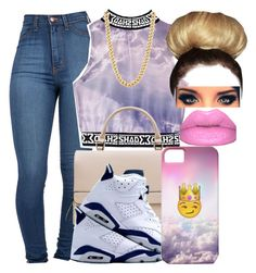 """Throw Shade To The Clouds ~ Janelle"" by dopest-queens ❤ liked on Polyvore"