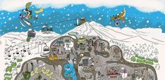 Jay Peak Mural Unveiled Jay Peak Resort, Whistler