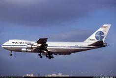 Pan Am Cargo Boeing 747-221F/SCD - Miami - International (MIA / KMIA) - USA - Florida - January 1983 - Burger Collection