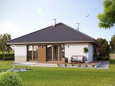 Elka 2 (85,95 m2) to nieduży projekt domu parterowego. Pełna prezentacja projektu dostępna jest na stronie: https://www.domywstylu.pl/projekt-domu-elka_2.php. #elka2, #projekty, #projekt #dom #domy #projektygotowe, #domywstylu, #mtmstyl, #domyparterowe, #małedomy, #houses, #home #design, #architektura, #architecture