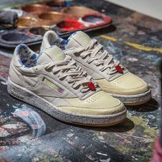 f1691517d9f884 Artists for Humanity x Reebok Classic Collection. The Artists for Humanity  x Reebok Classic Collection releases on April