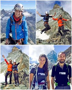 Yesterday marked yet another milestone accomplished by sporty Pippa Middleton as she and her brother James conquered Switzerland's iconic peak, the 14,691ft Matterhorn.  While it was an exciting and exhilarating achievement, there was also a tinge of sadness for Kate's two younger siblings. They had made the climb in memory of Michael Matthews, the brother of Pippa's fiancée James, who was killed shortly after becoming the youngest Briton to conquer Everest. The Michael Matthews Foundation…