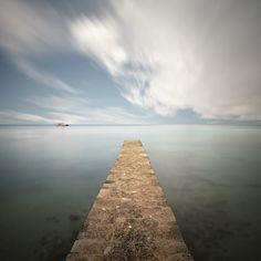 Reaching The Horizon by Ozkan Konu on Art Limited