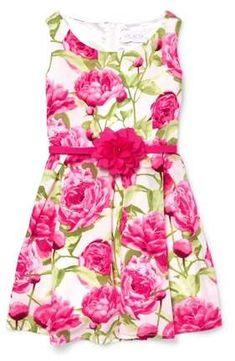 016823ee5 Children's Place The Allover Floral Print Easter Dress (Little Girls & Big  Girls)