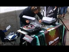 ▶ Soul:Good dj's spin 45's outdoors, Yekaterinburg, Russia (14.09.2013) - YouTube