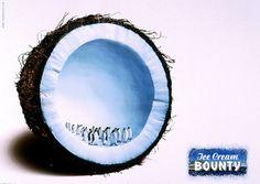 "Bounty Ice Cream: ""PENGUINS"" Print Ad by Clm BBDO"