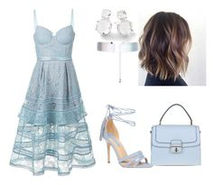 """Vamos Comemorar  Parte 1"" by jaquemel ❤ liked on Polyvore featuring self-portrait, Dorothy Perkins, Ippolita and Accessorize"