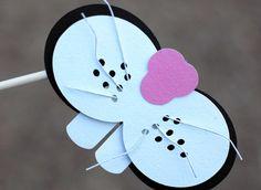 12 Alice In Wonderland Inspired Things On Sticks by Joosycardco, $25.00