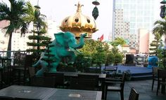 Rex Hotel, Saigon.  Stayed there 6 years ago.
