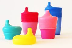 SipSnap TOT- turn any cup into a sippy cup- no more cabinet clutter!