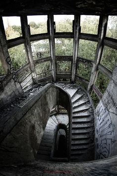 Lost | Forgotten | Abandoned | Displaced | Decayed | Neglected | Discarded | Disrepair | Sanatorium du Vexin by Caroline Crête
