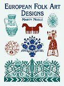 Traditional motifs from Austria, Poland, Hungary, Russia, Switzerland, and other European countries include scores of charming designs incorporating florals, wildlife, and human figures in folk costumes. Ideal for adding a touch of Old World flavor to a variety of print and craft projects. 265 black-and-white designs.