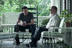 """From """"The Judge"""": Robert Downey Jr. and Robert Duvall Robert Downey Jr., Robert Downey Jr Young, Robert Duvall, Father And Son Movie, Ganhadores Do Oscar, Heather Mason, Movie Archive, O Drama, Movie Website"""