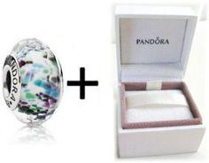 Amazon.com: Pandora Sea Glass Murano Glass Bead Charm will also fit Biagi Chamilia Troll: Arts, Crafts & Sewing