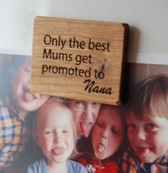 personalised only the best mums…magnet by bespoke & oak co. | notonthehighstreet.com