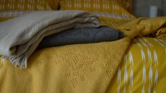 Soft Lace Pattern Throws | Cotton Blankets | Natural Bed Company