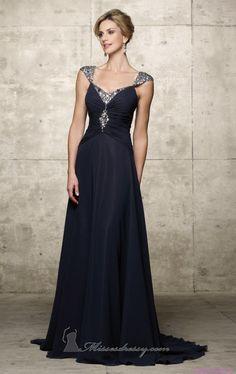 Lacivert Elbise