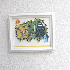 This pin is idea for kids present and how to decorate your children room, it is made of paper cm Presents For Kids, Gifts For Kids, Quilling, Your Child, Kids Room, Typography, Children, Paper, Frame