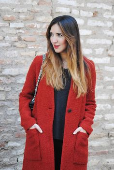 Fashion South: Red coat