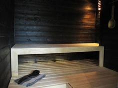 Bambula: SAUNA Blog Pictures, Koti, Sauna, Black, Home Decor, Black People, Interior Design, Home Interiors, Decoration Home