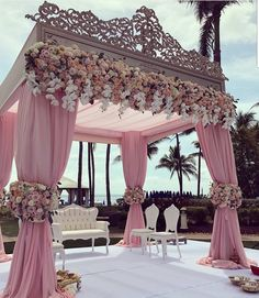 We are simply stunned by these incredible wedding decorations 💗 Double tap if this could be your dream wedding decor … ⠀ Decor by Event planner Source Wedding Goals, Dream Wedding, Wedding Day, Magical Wedding, Perfect Wedding, Spring Wedding, Luxury Wedding, Wedding Engagement, Wedding Scene