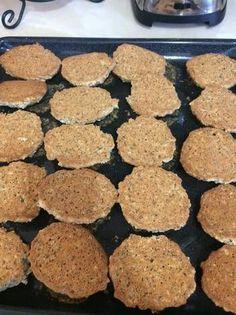 Galletas de linaza, avena, y chia Kitchen Recipes, Baking Recipes, Dog Food Recipes, Cookie Recipes, Dessert Recipes, Desserts, Diabetic Recipes, Gluten Free Recipes, Healthy Sweets