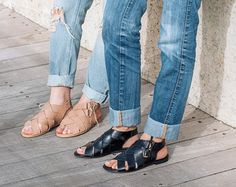 HYDRA Toe Ring Sandals Leather Sandals Flat by CobblersMistress