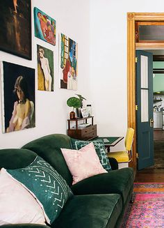 colorful nola holiday home. / sfgirlbybay