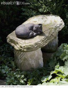 Cement stool