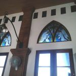 our works 3 - EraglassBali Doorway, Indoor Outdoor, Stained Glass, It Works, Mirror, Home Decor, Entrance, Entryway, Decoration Home