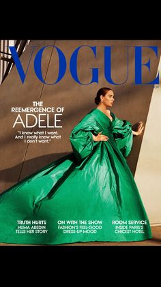 Adele, Elsa Peretti, Truth Hurts, It Hurts, Karl Lagerfeld, Lesage, Glamour, Vogue Covers, Someone Like You