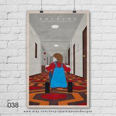 The Shining Art Print. The Shining, Stanley Kubrick, Paper Art, I Shop, Etsy Seller, Art Prints, Wall Art, Creative, Jack Nicholson