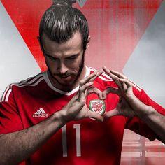 Maillot de foot Pays de Galles Domicile Euro 2016